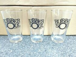 Case Of 24 Pint Rubber Soul Brewing Company Beer Glass Glasses Bar Ware Nos