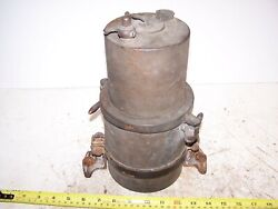 Original Brass Era Acetylene Gas Light Carbide Generator Pre War Auto Steam Nice