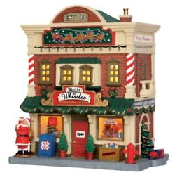 Lemax Christmas Village Bells And Whistles 55989 Lighted Building Retired