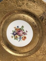 Antique Hand Painted Limoges Plate