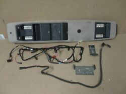 91-96 Jeep Cherokee Xj Factory Interior Overhead Console W/ Wiring And Brackets