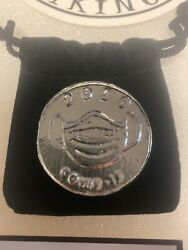 1.8 Ozt Hand Poured 999 Silver Bullion By Silver Vikings - 2020 Virus Round Rare