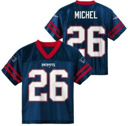 Nfl New England Patriots Toddler Jerseys 4t Michel 26 Player Brand New