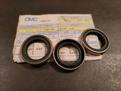 New Omc/brp Prop Shaft Seal P 310559 Qty 3
