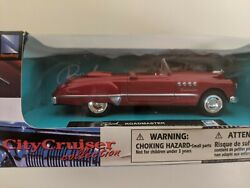 New-ray 1949 Buick Roadmaster Red Convertible 143 Diecast Car. Collectors Item