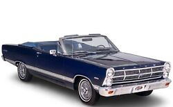 1967 Ford Fairlane 500 Convertible Poster 24 X 36 Inch
