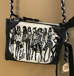 NEW NWT SAVE THE BEES. Crossbody by Izak. Girls Rock. Purse Bag MSRP $44 $34.99