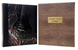 Jimmy Page + The Anthology + Genesis Signed Leather Limited To 2500