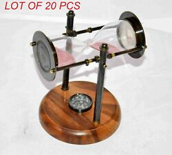 Description Primary Material Brass Glass And Wood Finish Antique And Wood Fini