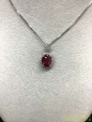 Ruby Sorting Yes Necklace Total 3.5g R1.47 D0.21