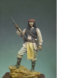 Apache With Gun Native American Painted Tin Toy Soldier Miniature Pre-sale   Art