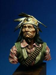 Lipan Apache Tribe Man Painted Toy Soldier Bust Pre-sale | Museum