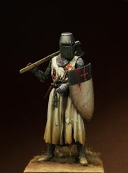 Templar Knight Crusade Tin Painted Toy Soldier Pre-sale   Museum