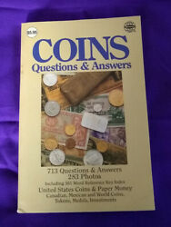 Coins Questions And Answers By Clifford Mishler 1988 4th Revised Edition Whitman