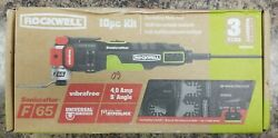 Rockwell 10pc Corded Electric Oscillating Multi-tool Kit Rk5144k
