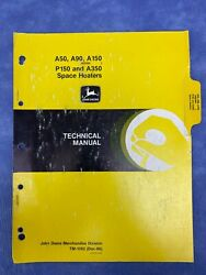 John Deere Tm1392 Technical Manual For A50-a350 Space Heaters