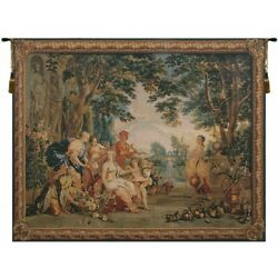 Triumph Of Flora Belgian Tapestry Wall Hanging