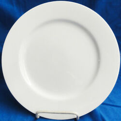 Fitz And Floyd White Chop Platter 12 Round New Never Used Made In Japan