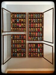 Set Of 4 Handmade Display Cases For Star Wars Figures And Other Collectibles