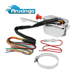 12v Street Hot Rod Turn Signal Switch Chrome For Ford Buick Gmc