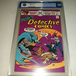 Detective Comics 454 Cgc 9.8 - Ernie Chan Cover - Man Bat Story - Ow To W Pages