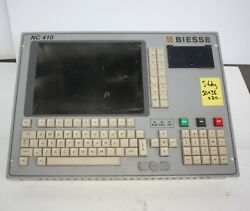 Biesse Rover 20 Cnc Router Nc410 Cpu Keypad Lcd Screen Control Panel Hmi Replace