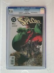 Spectre 54 Cgc Nm+ 9.6 Origin And1st Mister Terrific White Pages Cw Tv Arrow