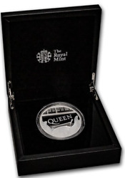 Great Britain 2020 Andpound10 Music Legends Queen Silver Proof 5 Oz Coin Coa Only 750