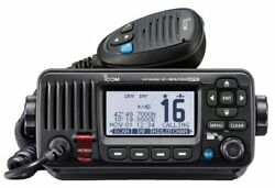 Icom Ic-m423g Fixed Mount Vhf/dsc Marine Radio With Built In Gps Receiver