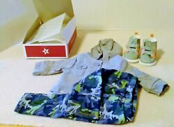 American Girl Truly Me Camo Cool Outfit New In Box Frj03 8+