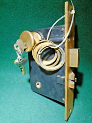 Corbin 572 R Entry Lock W/ 1 1/4 Double Cylinder And Key 1895 Catalog 15503