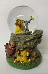 Disney The Lion King Musical Snow Globe Water Ball A Dream Is A Wish Your Heart