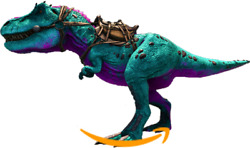 Ark Survival Evolved Pc - Pve New - Cotton Candy Rex - 1447 Melee / 39.300 Hp