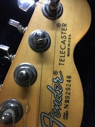 1992 Fender Usa Telecaster In Exolent Condition With Hard Shell Case Original
