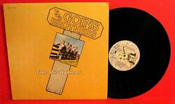 Goins Brotherstake This Hammer Lp Private Press Bluegrass Free Shipping