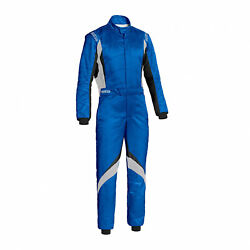 Sparco Italy Superspeed Rs-9 Racing Suit Blue Homologation Fia 50