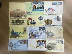 Mongolia Fdc Collections 27 Covers