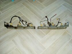 1970 71 72 Gto/judge/lemans/tempest Gm Used Taillight Housings W/harness Rh And Lh