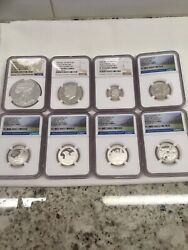 2016 Limited Edition Silver Proof Set Ngc Pf 70 Ultra Cameo