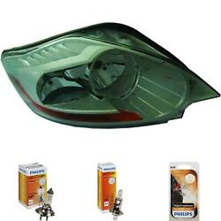 Headlight Left Ford Kuga Year 07- Hella H7 +h1 Incl. Philips Lamps G2b