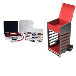 Road Racers Longacre Accuset Ii Computerscales,1500 Lb. Pad And 299 Scale Cart -