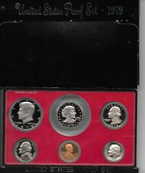 1979-s San Francisco Mint Proof Sets With Susan B. Anthony Proof Dollar