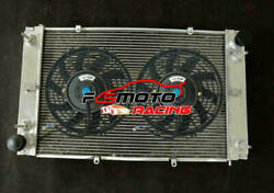 Newly-improved 5 Row Alu Radiator + Fan For Porsche Coupe 928 With 2 Oil Coolers
