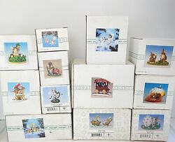 Charming Tails Figurines Set Of 12 - Silvestri And Fitz And Floyd - Collectibles