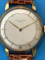 Patek Philippe Real Vintage From The 60#x27;s In Yellow Gold Ref 2482 447