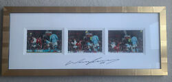 Rare Official Photos Of Manchester Uniteds Wayne Rooney Overhead Kick Signed