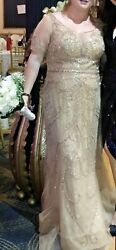 Ivonne D By Mon Cherie Size 16 Mother Of The Bride/groom Dress