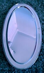 Howard And Co 22 Oval Sterling Silver Serving Tray / Platter Very Nice Over 45 Oz