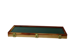 Cedar Wood Display Case 9 X 25 X 2 For Arrowheads Knifes Collectibles And More