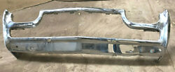 1961 1962 1963 And Other Ford Thunderbird Front Chrome Bumper And End Caps Only